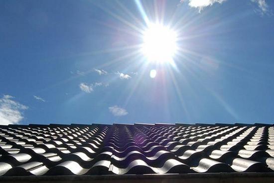 Sử dụng mái lợp cách nhiệt