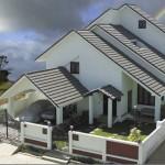 Mái dán Betong và ưu điểm so với mái lợp thông thường