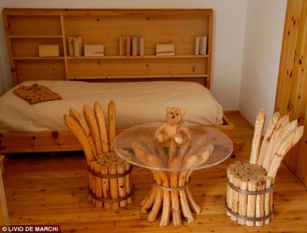 Sử dụng gỗ ngoài trời cao cấp