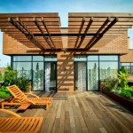Sử dụng gỗ ngoài trời cao cấp theo phong thủy