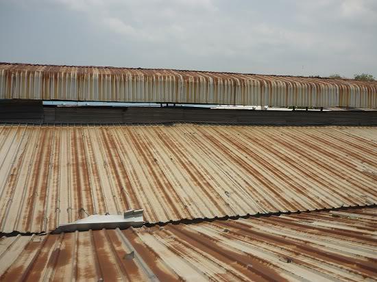 Chống gỉ sét cho mái lợp kim loại